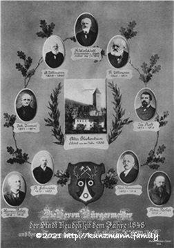 Bürgermeister Neudek seit 1848