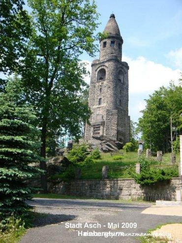 Hainbergturm - Asch von Hubert Kunzmann