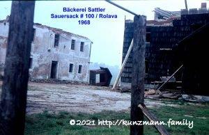 Sauersack - Bäckerei Sattler 1968