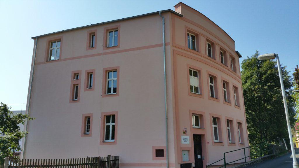 Fabrikgebäude Firma Anton Gottschald in Neudek