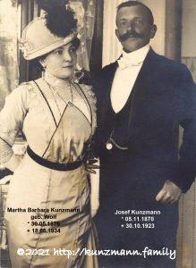 Wohnhaus Josef und Barbara Kunzmann