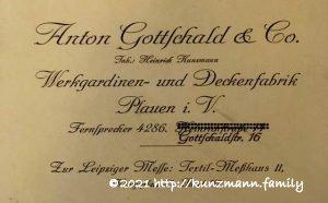 Anton Gottschald & Co. - Filiale Plauen