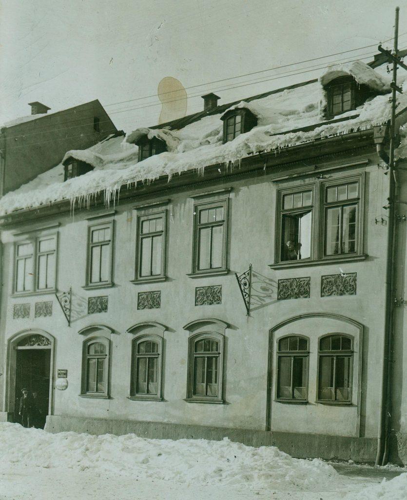 Wohnhaus in Neudek #161 um 1900